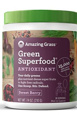 Amazing-Grass-Green-Superfood-Antioxidant-Organic-Powder-with-Wheat-Grass-Elderberry-and-Greens-Flavor-Sweet-Berry-30-Servings-0